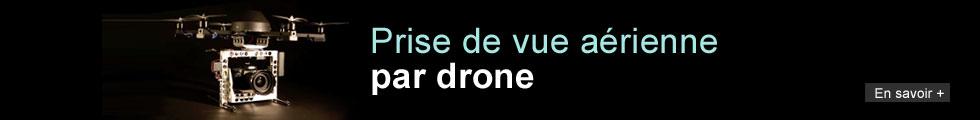 Prise de vue aérienne drone